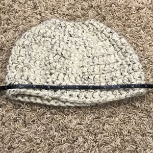 Beanie with cutout for ponytail or bun!!